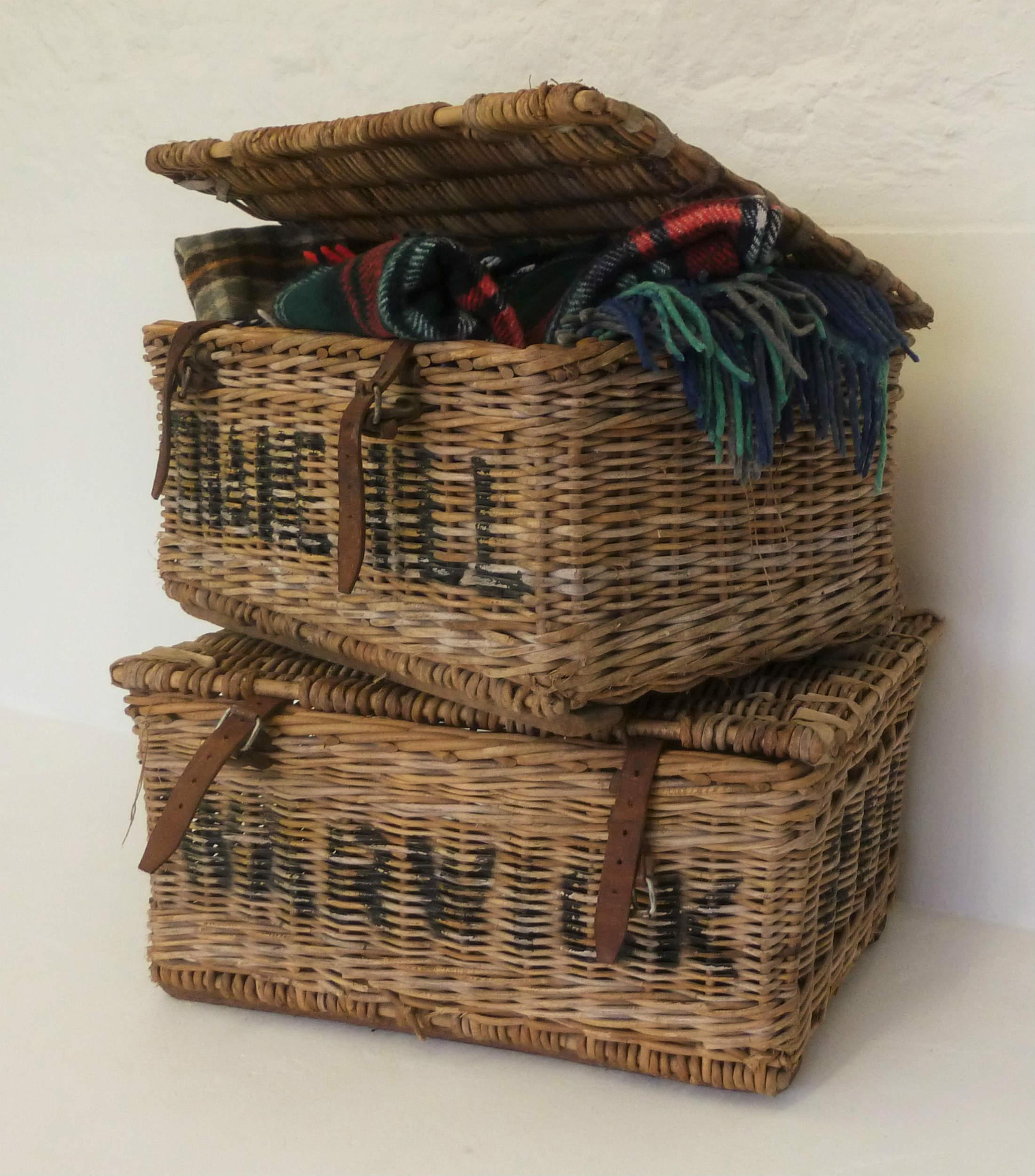 Wicker baskets  Hire £25 each