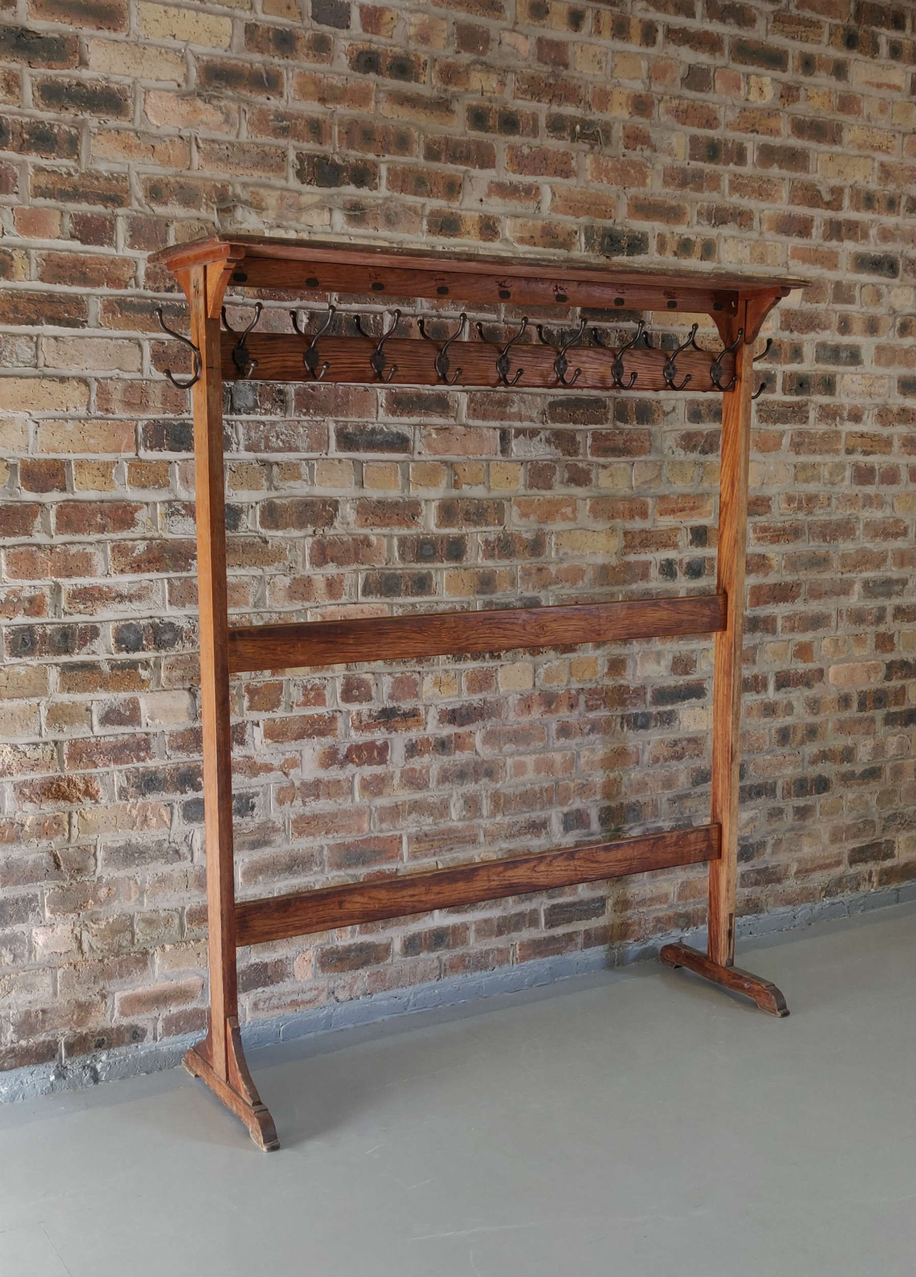 Old School Coat Rack (170cm x40cm x190cm WxDxH)  Hire £45