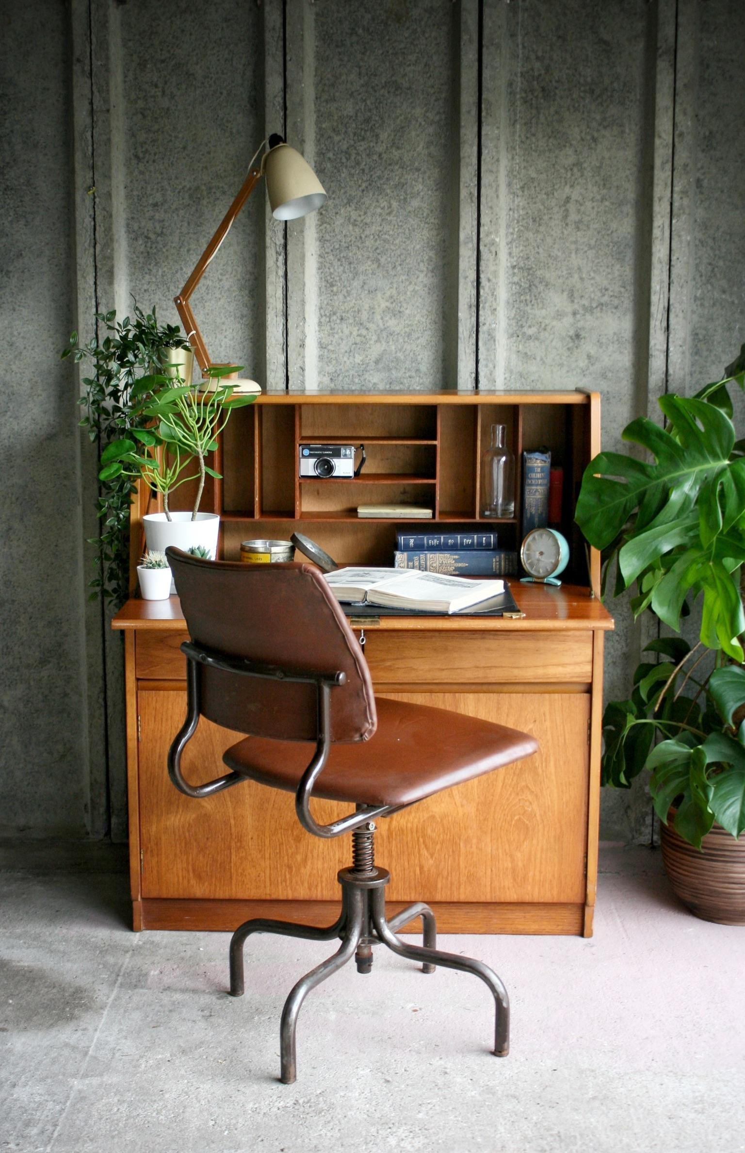 Mid-century writing Bureau