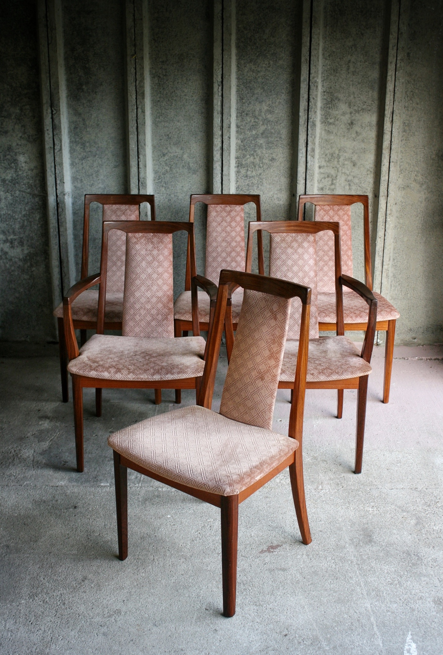Set of 6 G-Plan Dining Chairs