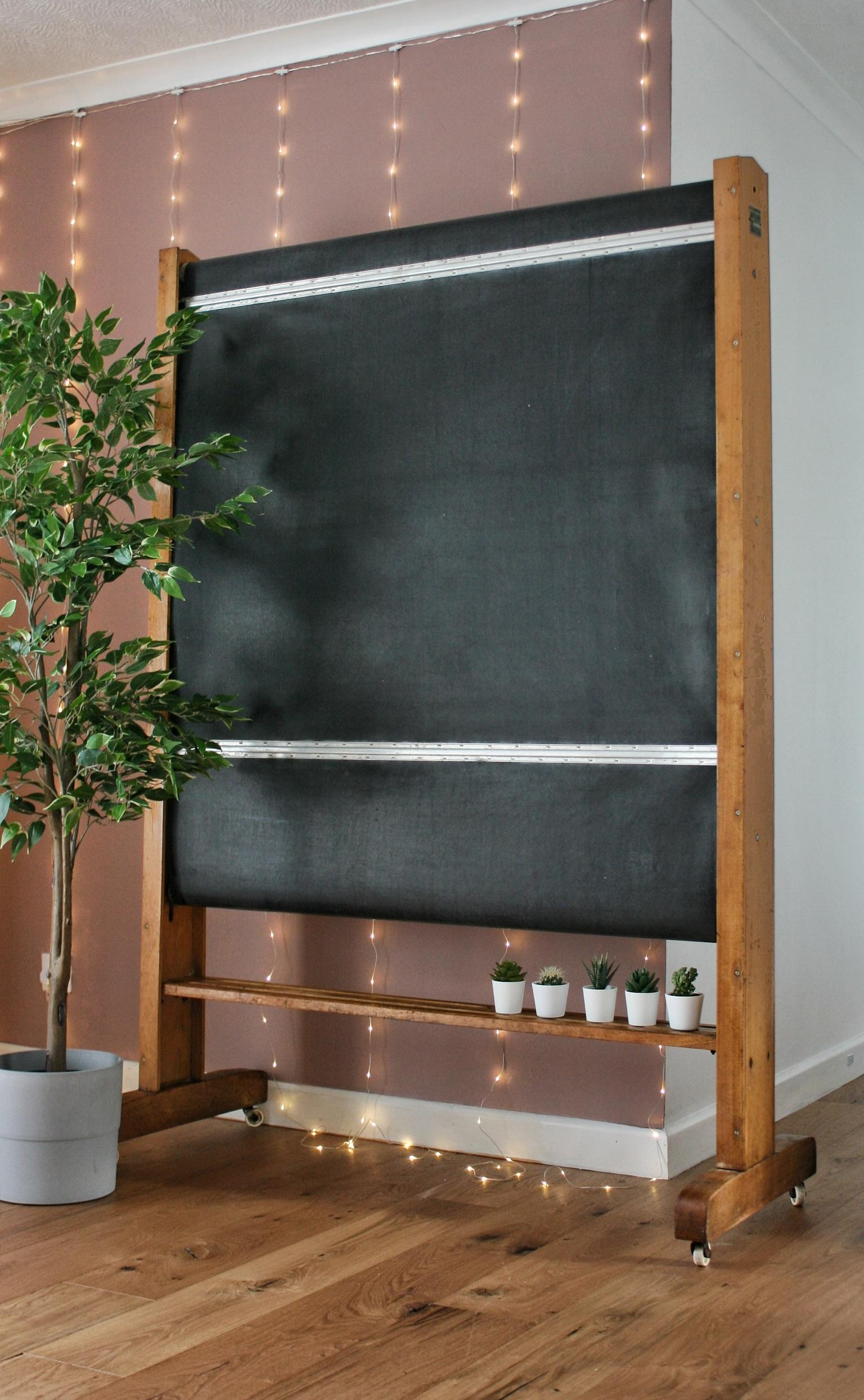 Vintage 'Wilson and Garden' Blackboard