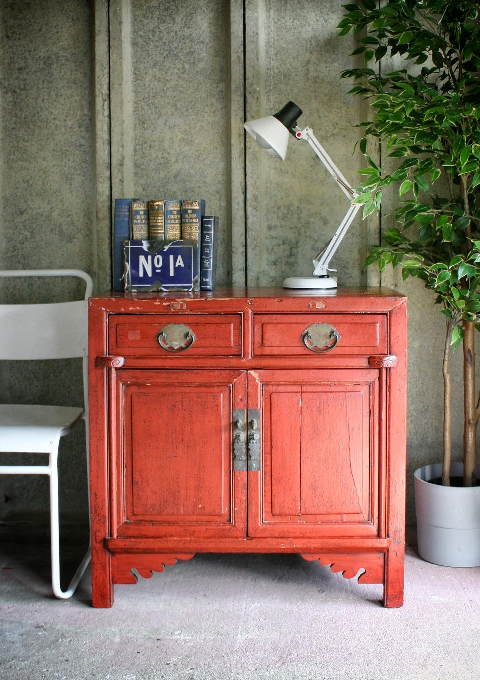 Vintage Oriental Cabinet