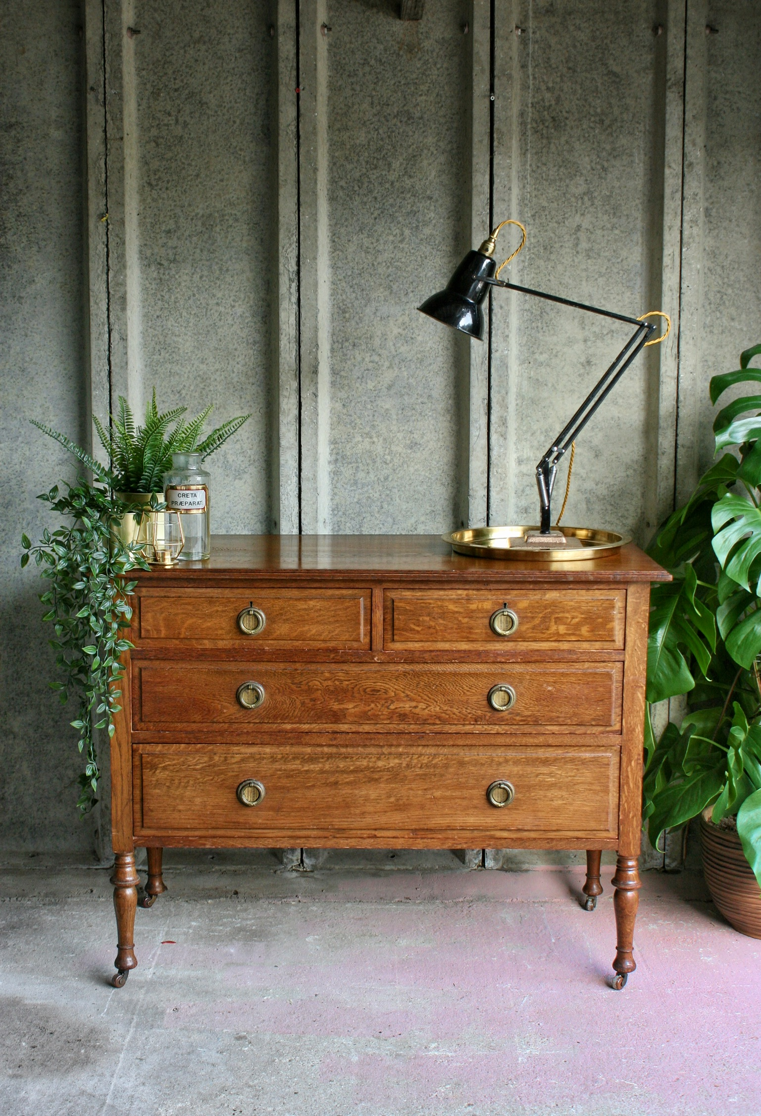 Antique Oak Drawers