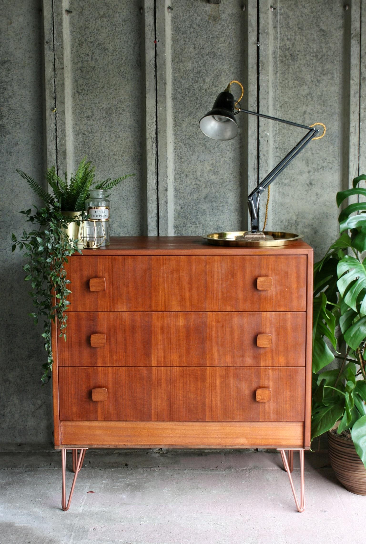 'Herbert Gibbs' mid century drawers