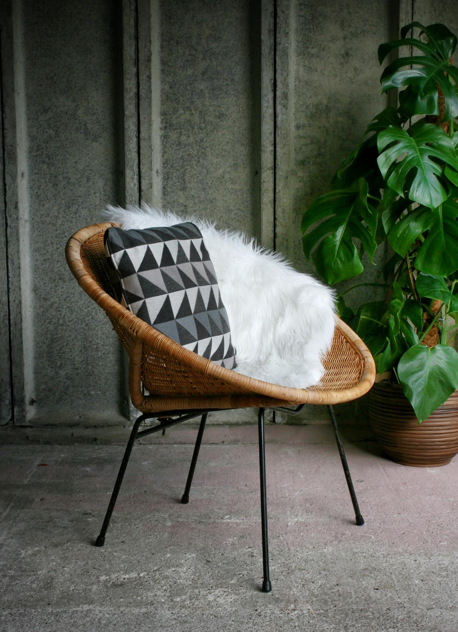 1960's Rattan Chair