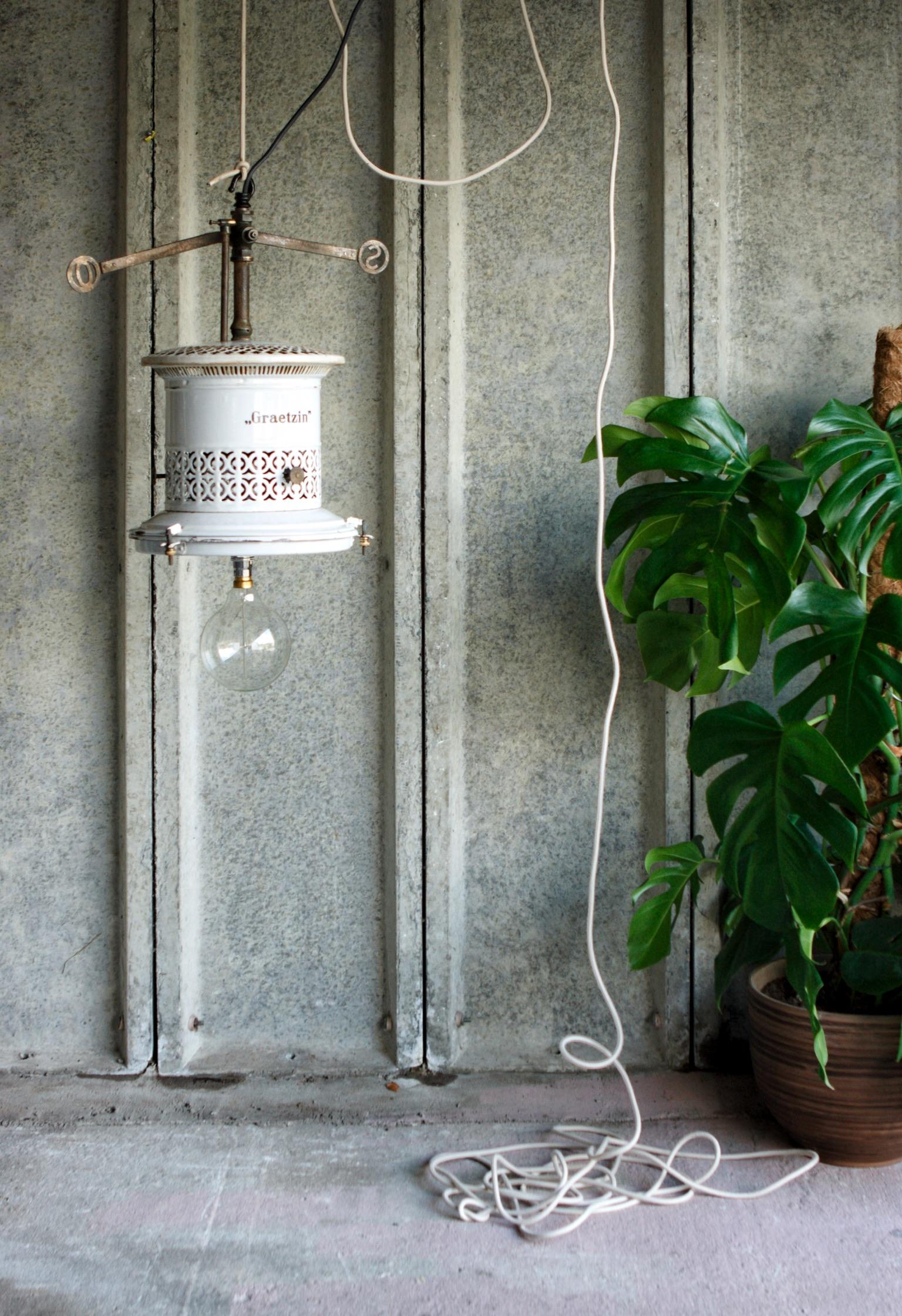 Antique Gas Lamp