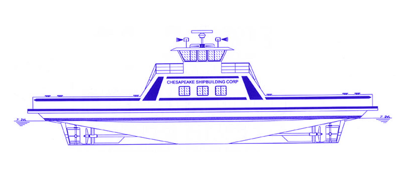 "LOA: 100'  BEAM: 40'-6""  DRAFT: 7'-0"" MAX  USCG Certification: Subchapter T  149 Passenger Capacity"