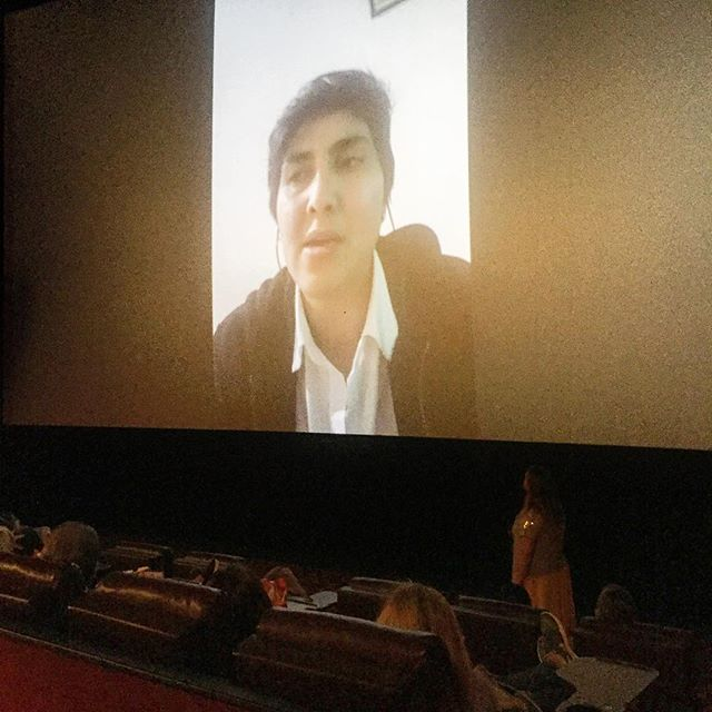 The audience of the @girlunboundfilm had the rare opportunity to interact with professional squash player Maria Toorpakai the subject of the film this weekend! Thank you Maria for taking the time to Skype into the Q & A sessions for #Inspirefilmfestival 2018!