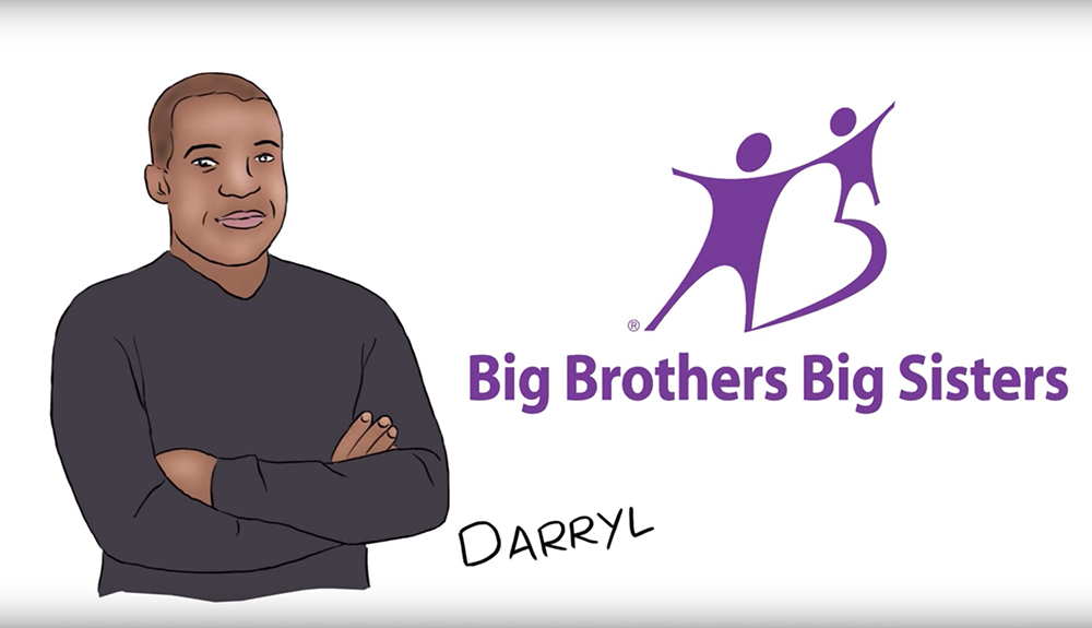DARRYL'S STORY - BIG BROTHERS BIG SISTERS
