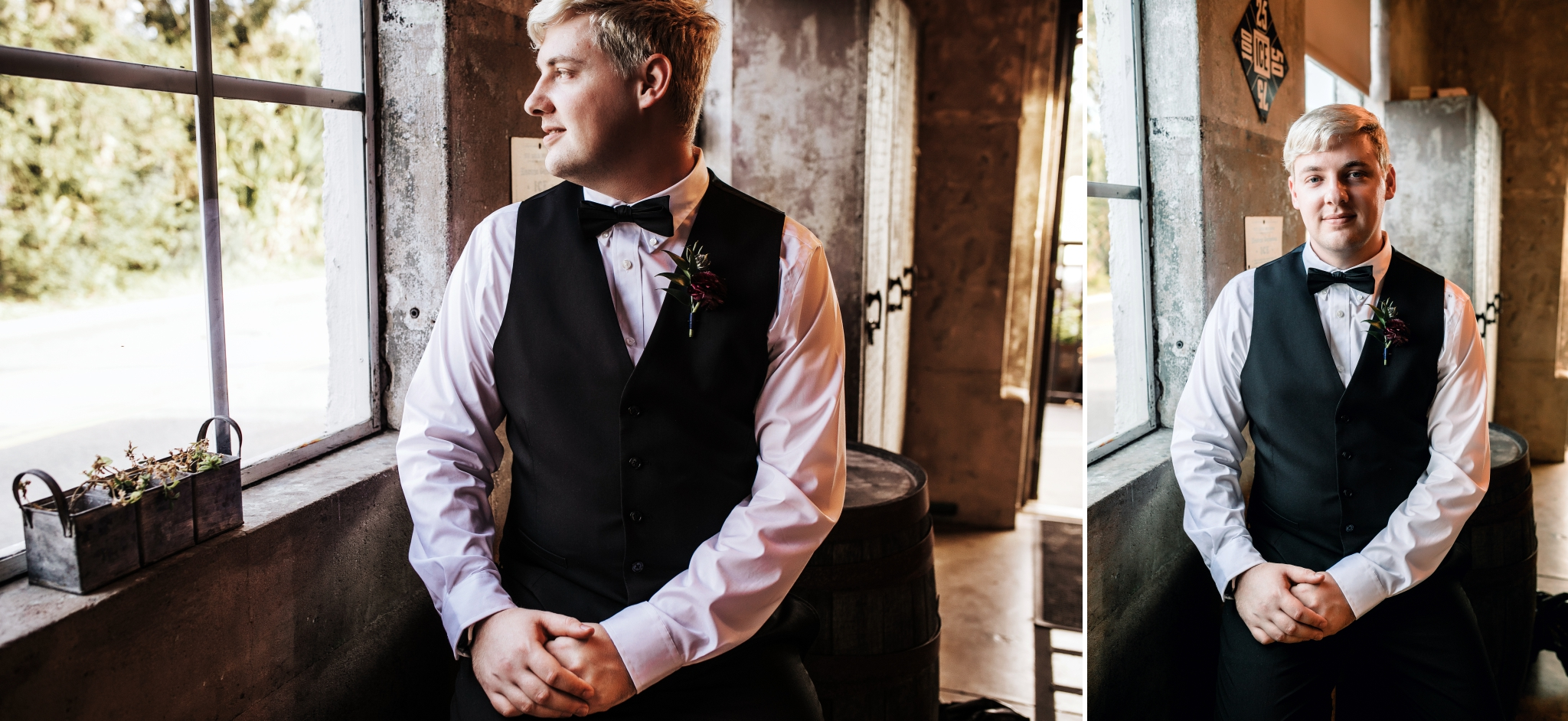 Saint Augustine Distillery Florida Same Sex LGBTQ Elopement