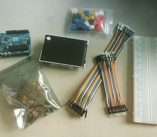 Getting our physical prototyping on! #arduino #publicengagement