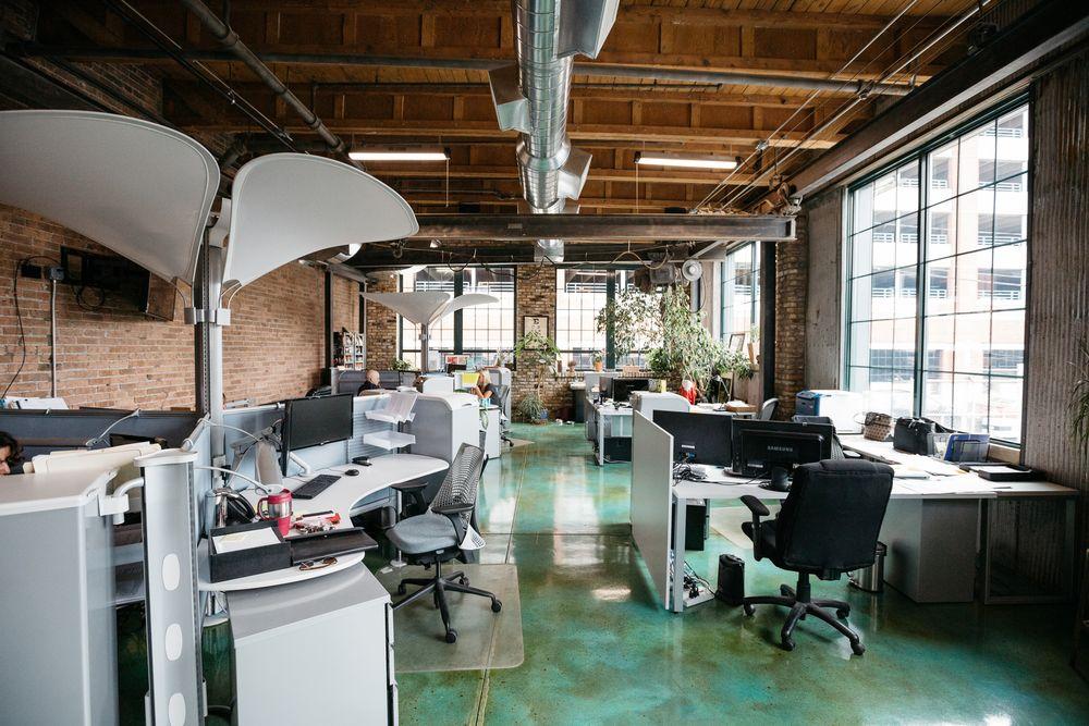 CAM main office interior
