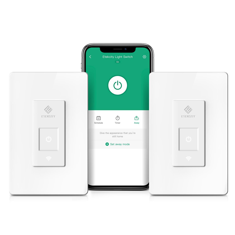 Etekcity Smart WiFi 3-Way Light Switch (ESWL03) — VeSync