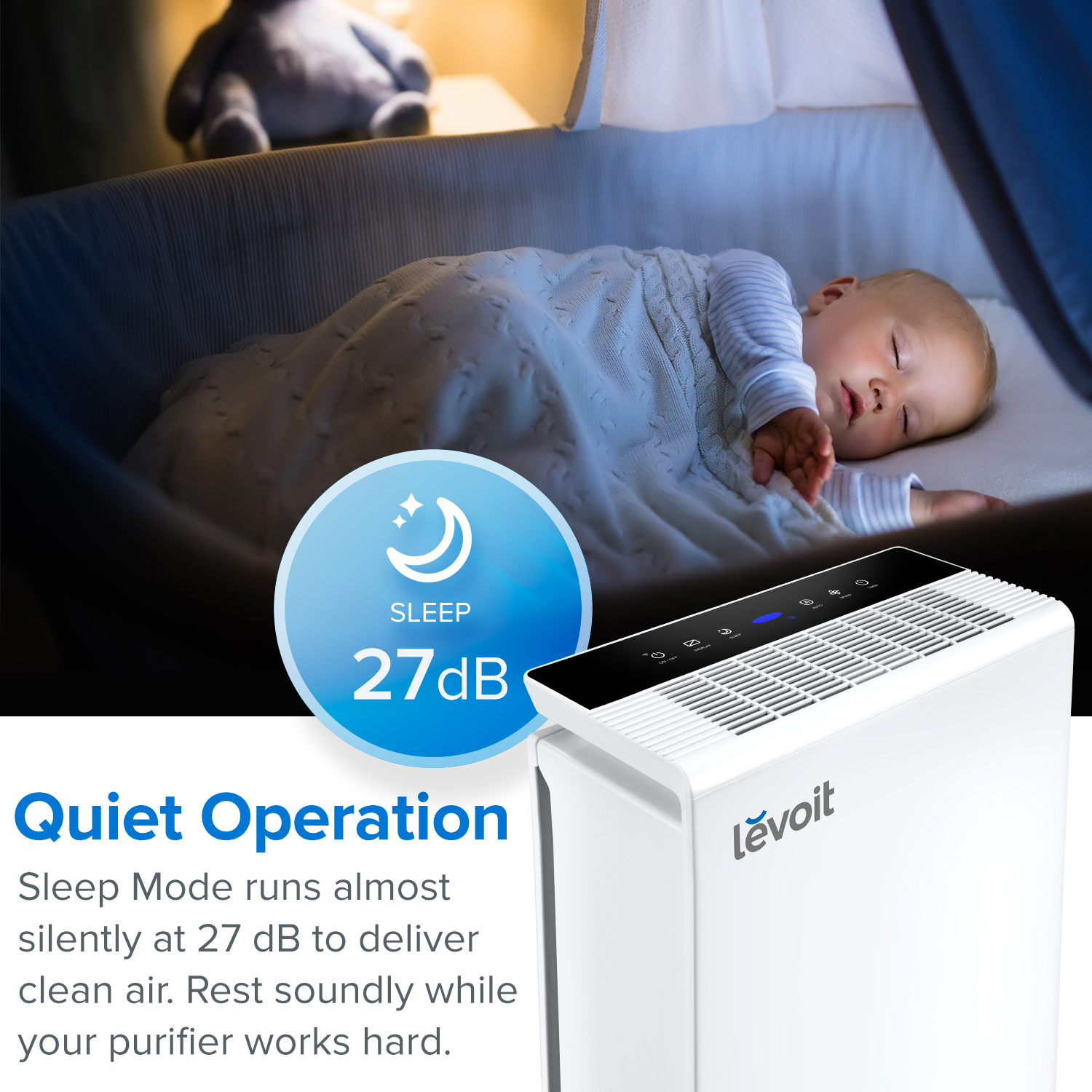 Levoit Smart True HEPA Air Purifier (LV PUR131S) — VeSync