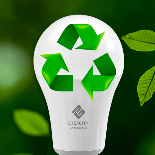 Go Green   One smart bulb can last up to 15,000 hours, so you can switch bulbs less often. Low standby power (0.5-0.8W) also keeps costs down.