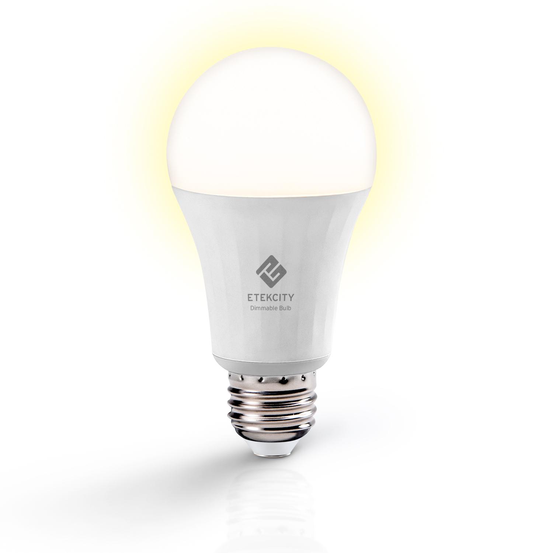 Etekcity Smart LED Soft White Dimmable Light Bulb (ESL 100)