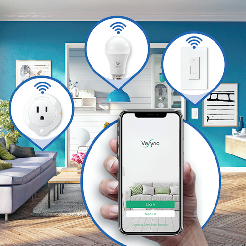 An Upgraded Home   Enjoy a smarter home by using the VeSync app to control all your Etekcity smart products.