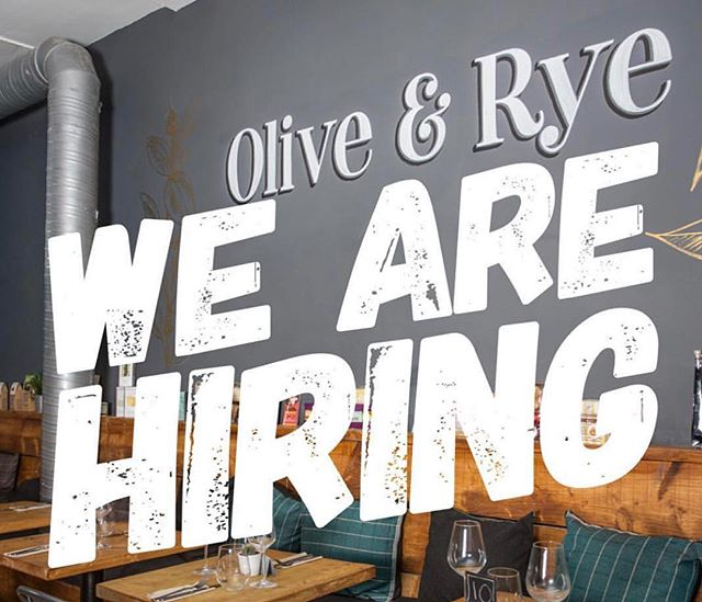 Olive & Rye is a fast paced city centre Deli/Cafe with a focus on great home made dishes.  We are looking for a strong chef to join the team . Anyone wishing to apply must have the below skill set  Good grasp of food hygiene and HACCP Good time keeping A high level of food knowledge , passion for the industry Reliable and forward thinking Good grasp of GP control, be able to order with in a budget Knowledge of food ordering Approachable ,friendly... no ego  We work a simple 5 day week 9-6 no evenings as we are only open during the day 45 -50 hours per week, Salary depending on experience . Please DM me for more details. Anyone willing to come for a trial shift will be paid.