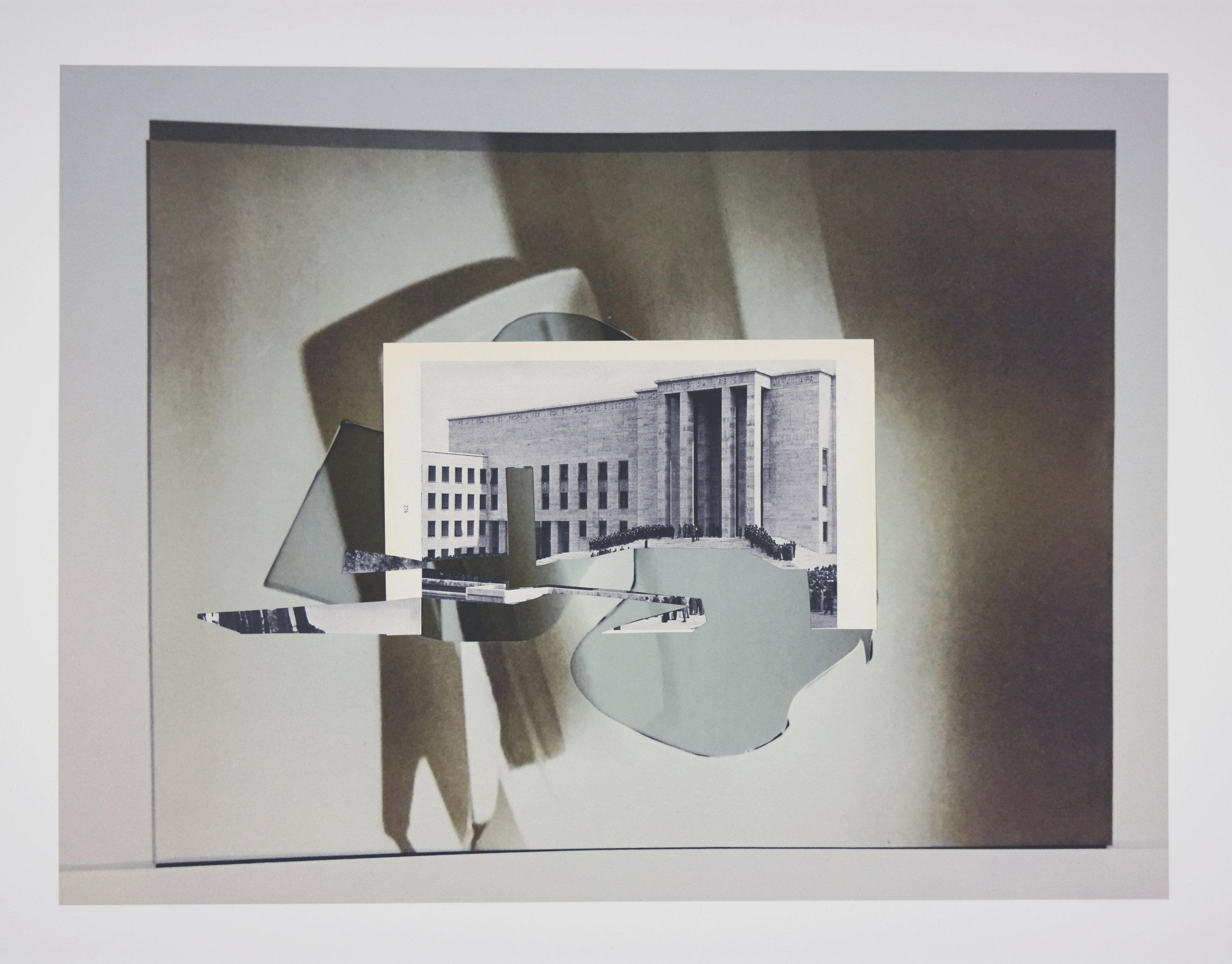 """Volatile wonder"", epson print, found image, 16,5""x 24"", 2016"