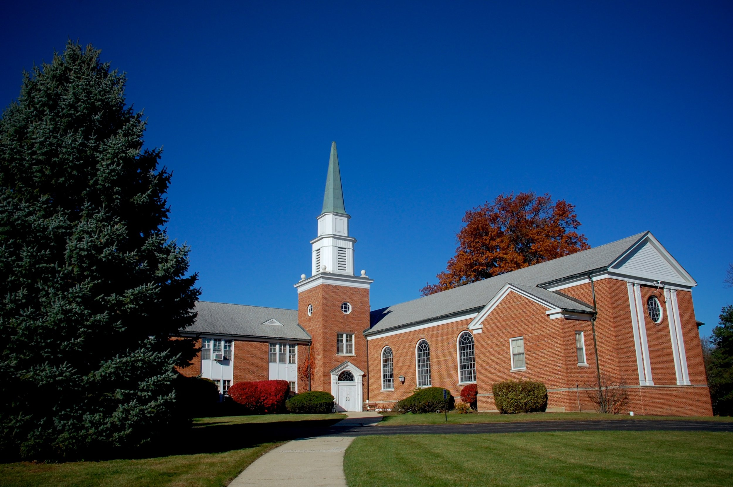 We opened the doors of our church on July 4th, 1954.