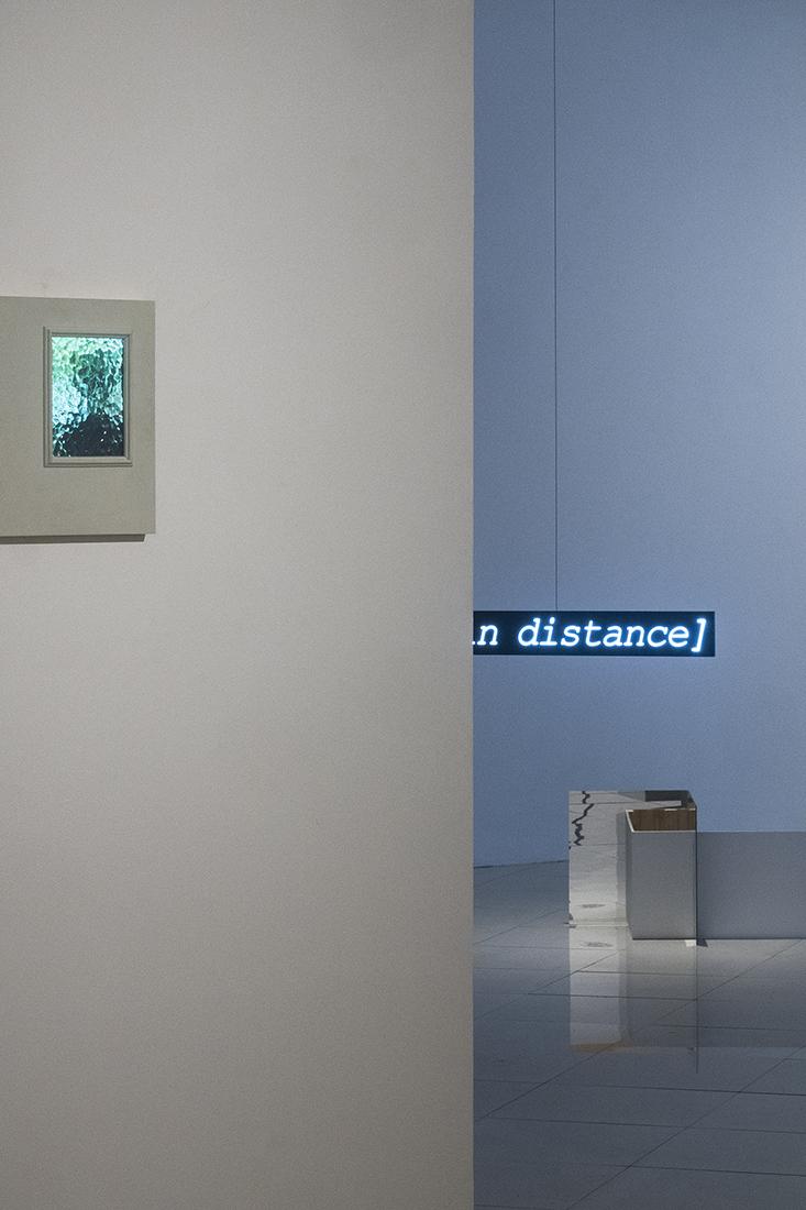 Javier M. Rodriguez and Fabiola Torres-Alzaga.   Exhibition view.