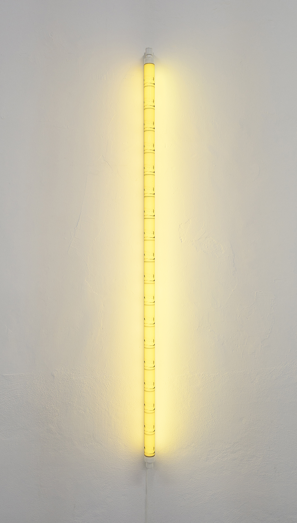 Again, the scorching sun , 2017  LED lamp, backlight print, aluminum and power supply.  4.5 x 191 x 7 cm.