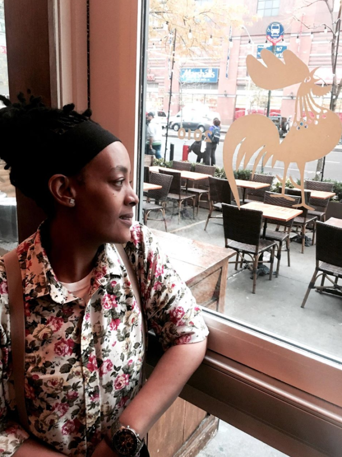 Anissa Sherard , Red Rooster employee of 3 years and Harlem resident