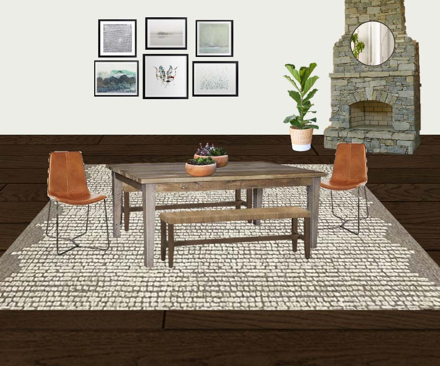 dining style board