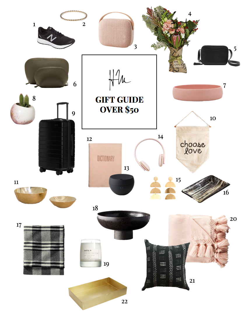 Haley Manning's Gift Guide - Over $50