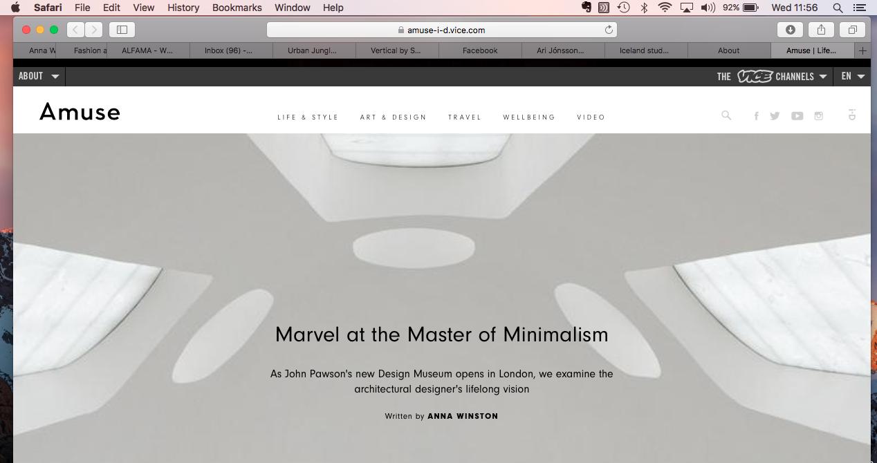 John Pawson Master of Minimalism