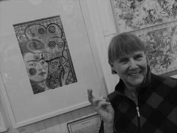 Twoie Palmer - The Artist's Way. Collage.