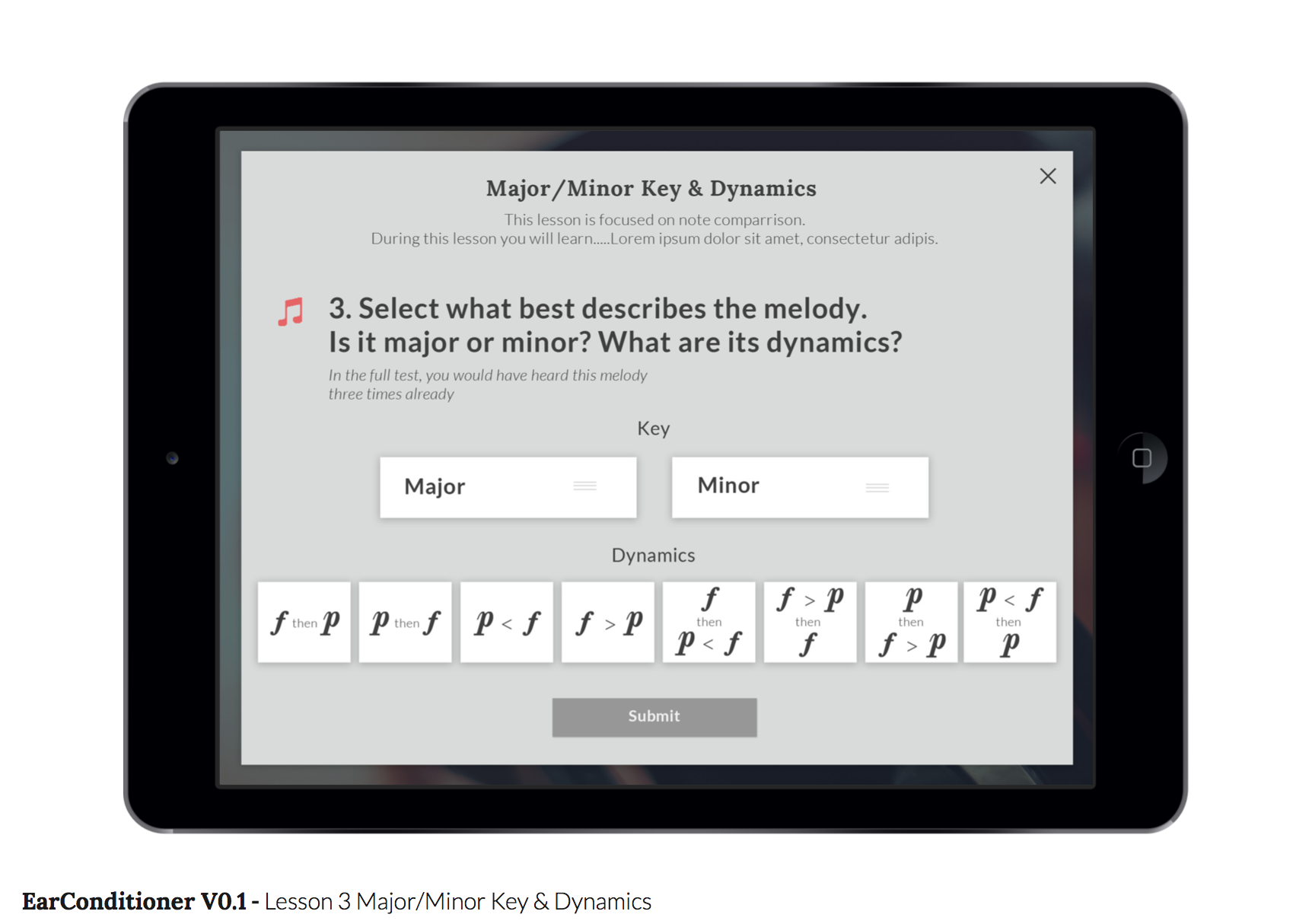 majorminor keys