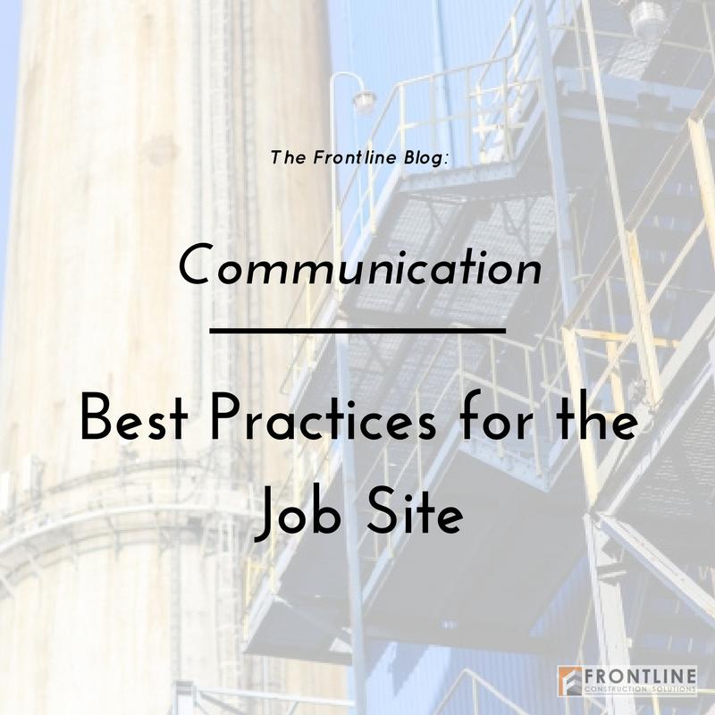 construction small business job site communication