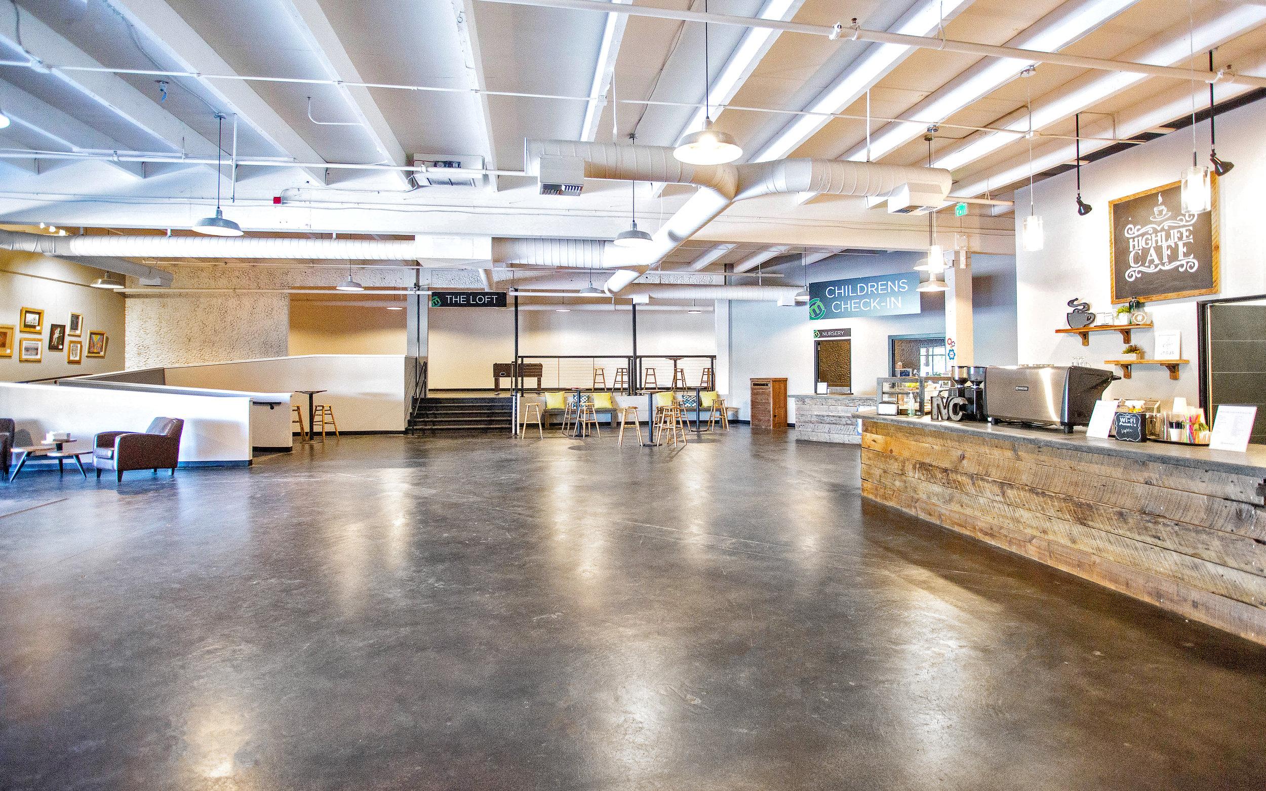 Lobby/Cafe Area