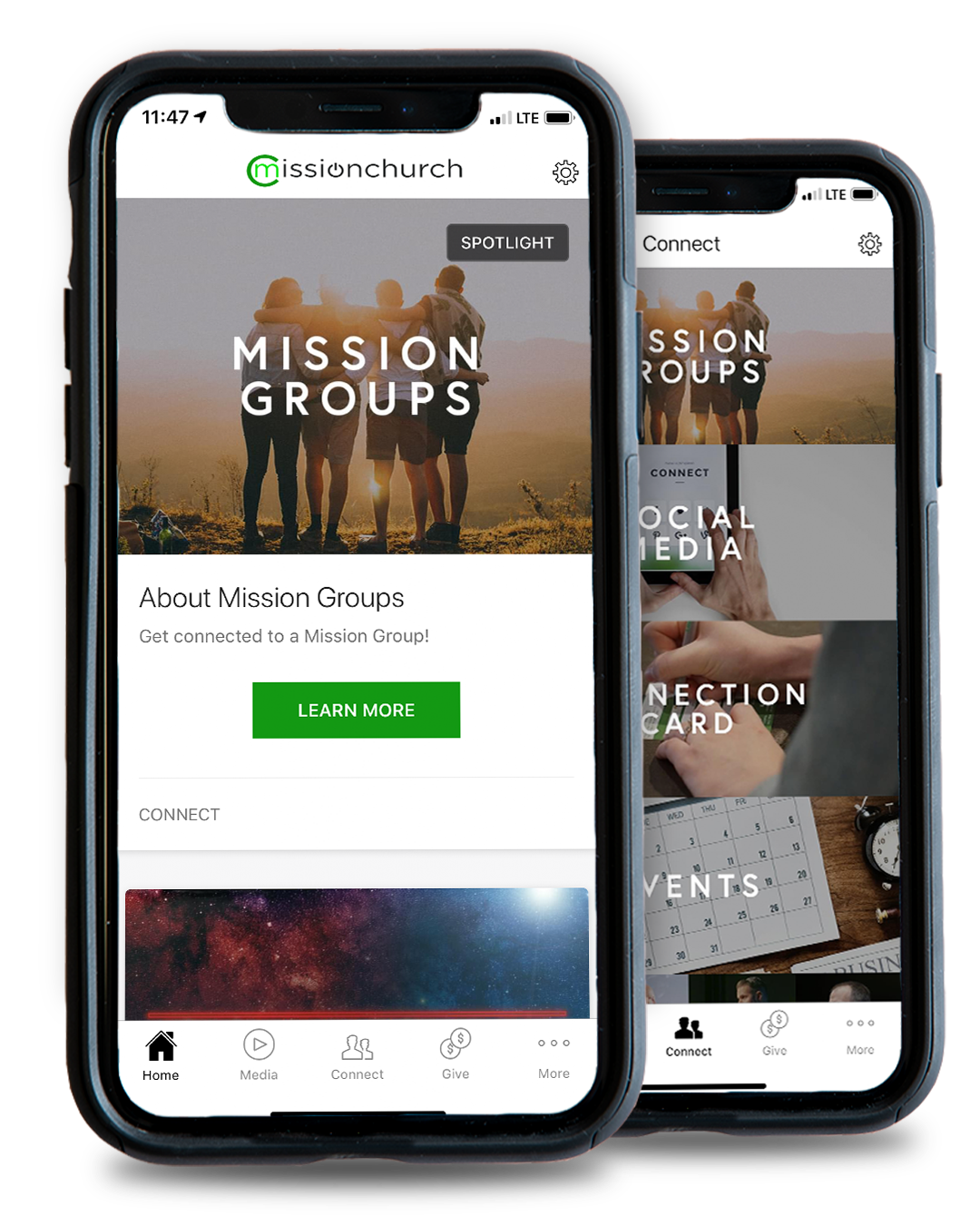 CONNECT WITH COMMUNITY fROM ANYWHERE! - Download our app to get connected like never before! View messages, watch videos, join a mission group, and give…all from one app!
