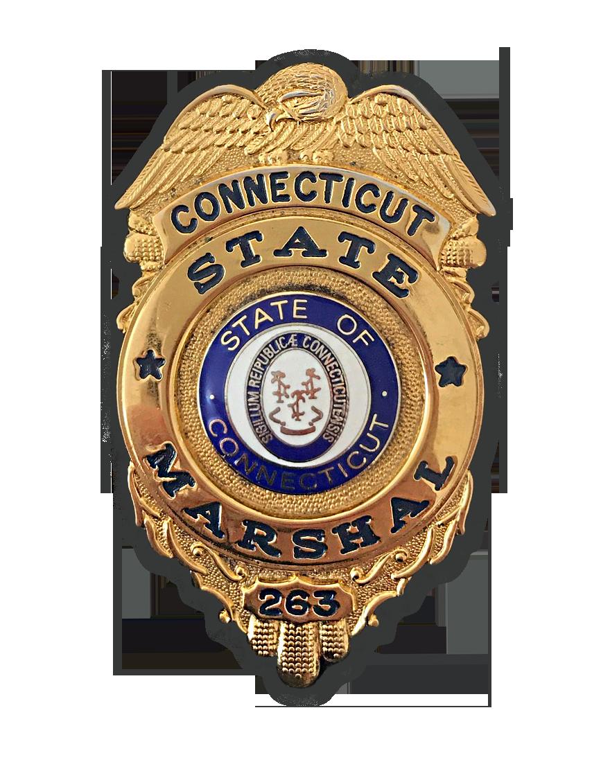 Fredrick Brandi CT Marshal Badge #263.png