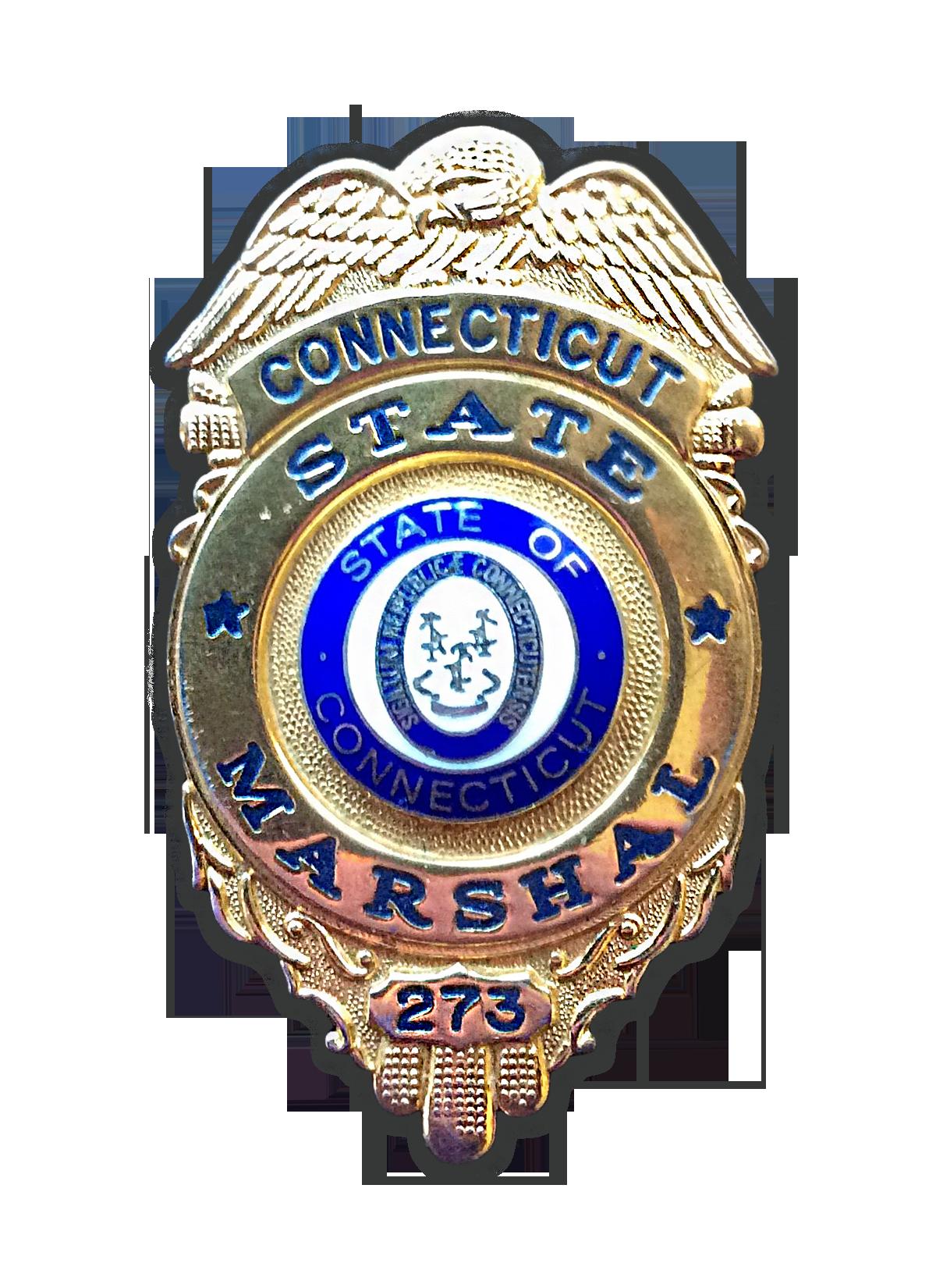 H. Mark DeAngelis CT Marshal Badge #273.png