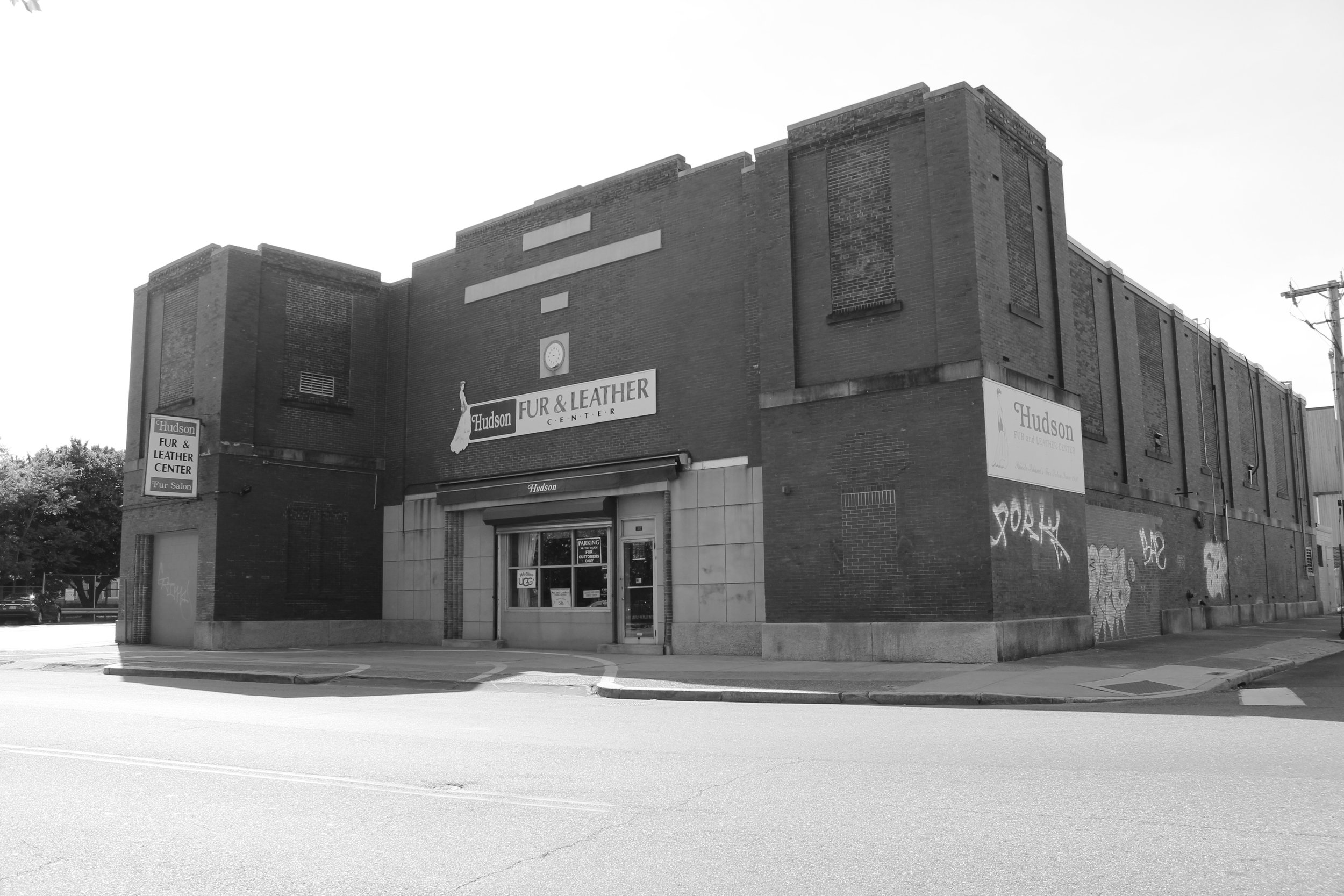Located in Federal Hill,Hudson Fur Storage was once the home of a secret mob bank.This is a 2015 photo of the company, still in business at 101 Cranston Street.  Courtesy of John Villella.