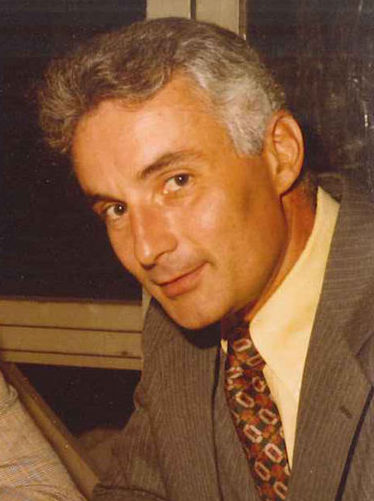 Vinny Vespia , pictured here in the early 1970s, was a state police detective. He followed Jerry and Harold Tillinghast to the scene of George Basmajian's murder.  Courtesy of Sheila McKenna .