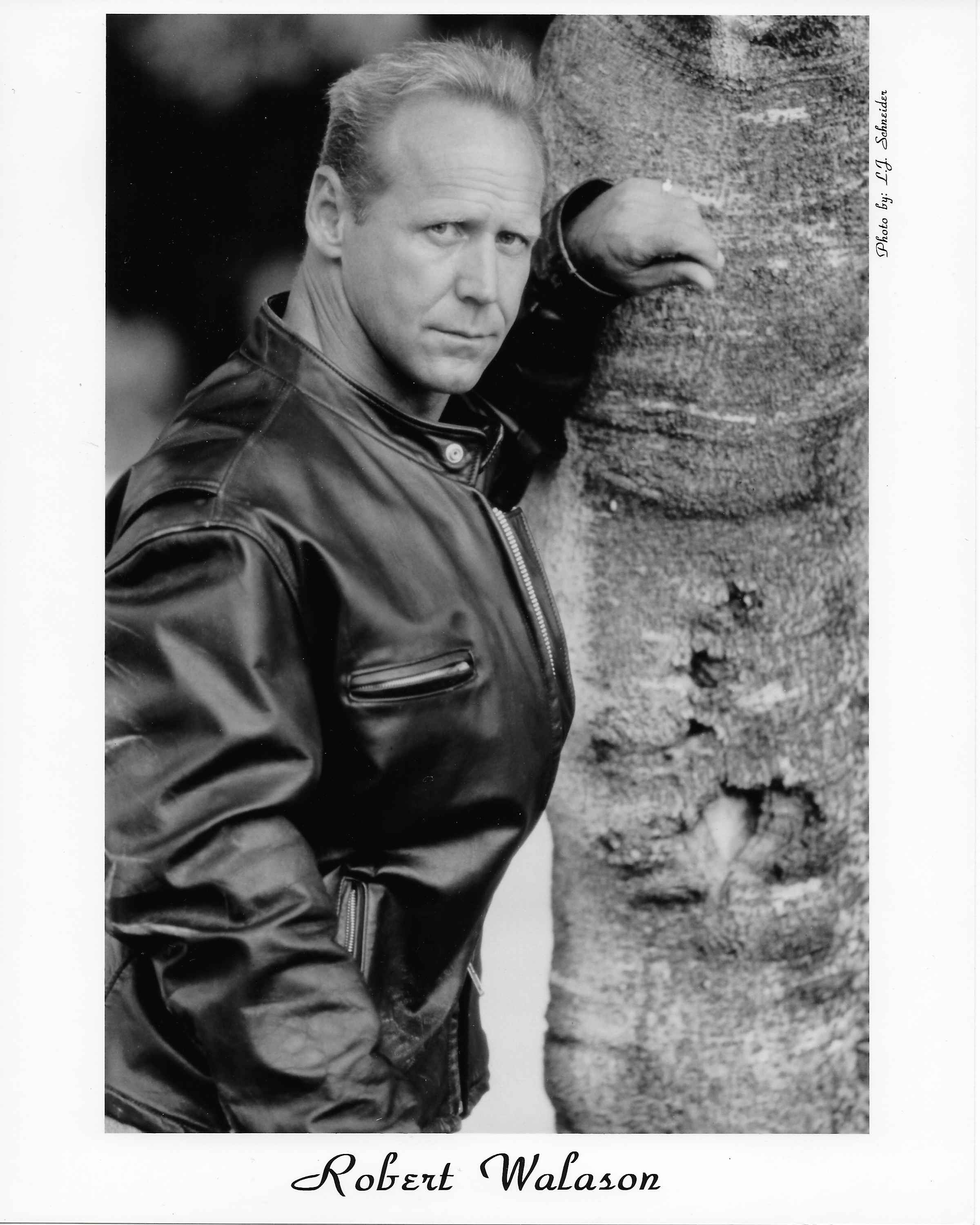 After leaving the mob, Bobby Walason tried out many careers,including modeling. Courtesy of Bobby Walason .