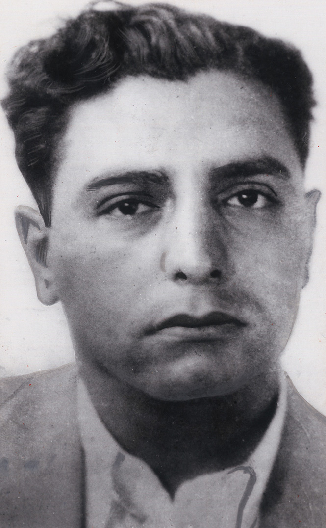 """Raymond Patriarca in a photo from the 1930s. After his father Eleuterio died in 1925, Patriarca quickly fell into a life of crime. """"I lost my father, and I guess I drifted a little,"""" he later said.  Courtesy of The Providence Journal."""