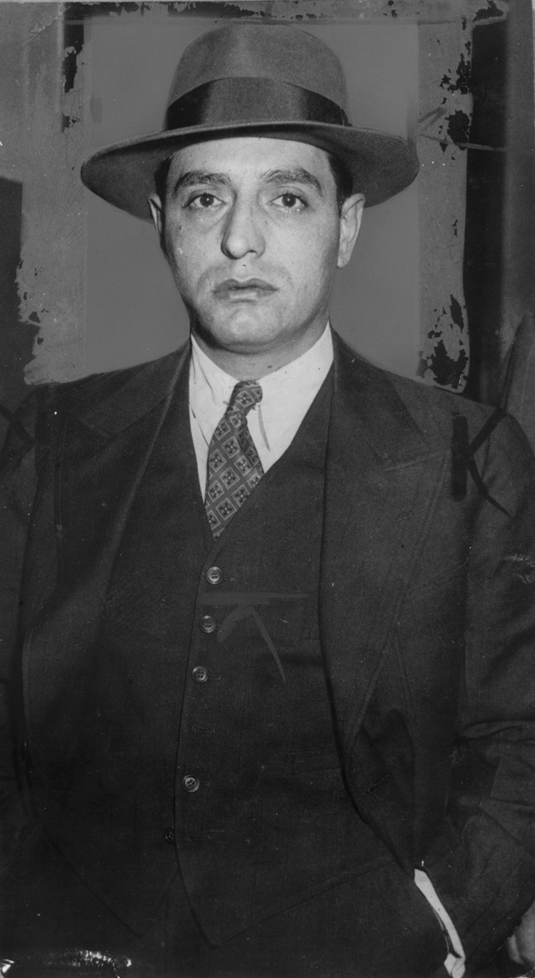 Patriarca in 1941. That year, he began a three-year prison stay for a holdup sentence and other crimes.  Courtesy of The Providence Journal.