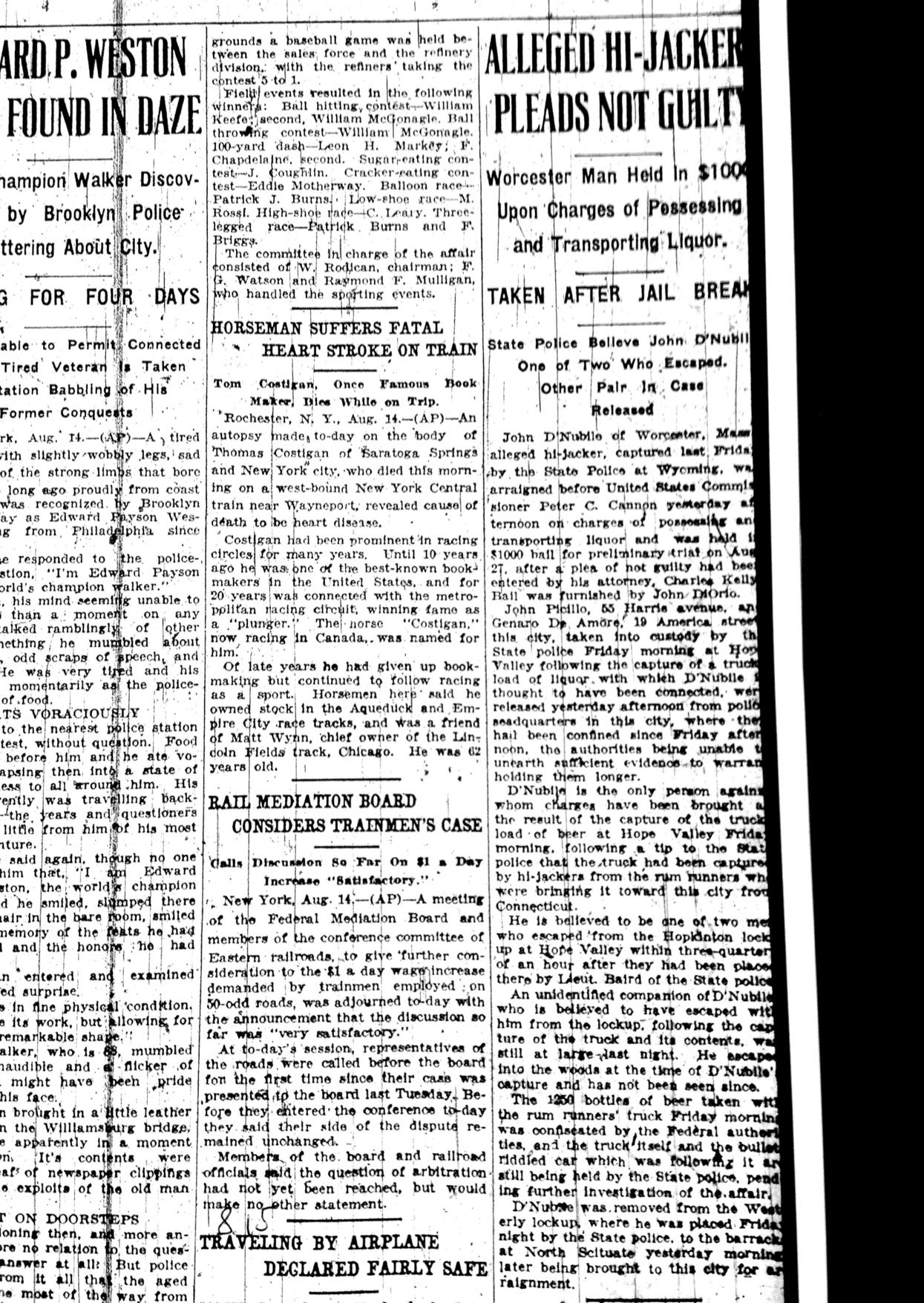 Jul 26, 1927_Highjackers plead not guilty.png