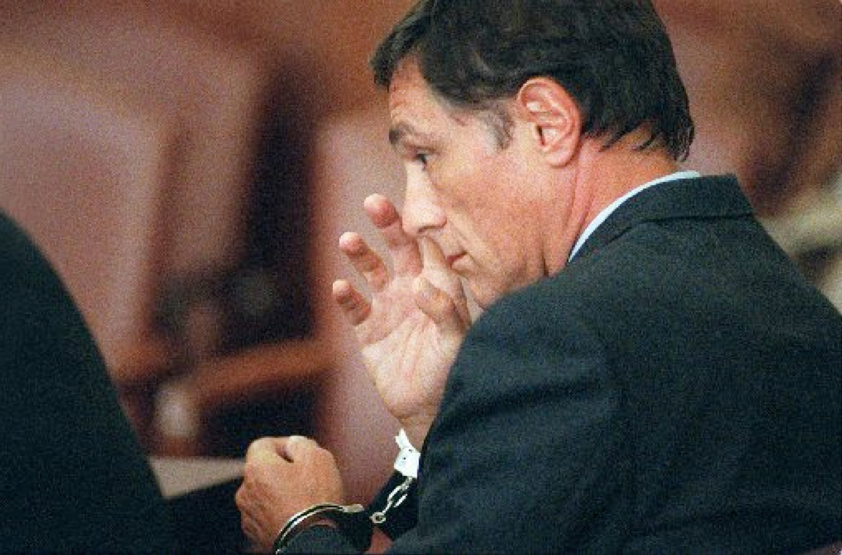 Mollicone was sentenced to 30 years in prison for embezzlement and bank fraud. He received parole in 2002. Courtesy of The Providence Journal.