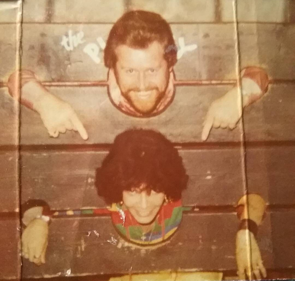 Jarrod's parents, above, during happier times. Life at the Tillinghast home was chaotic, especially after Jerry was sent to prison when Jarrod was four.  Courtesy of Jarrod Tillinghast.