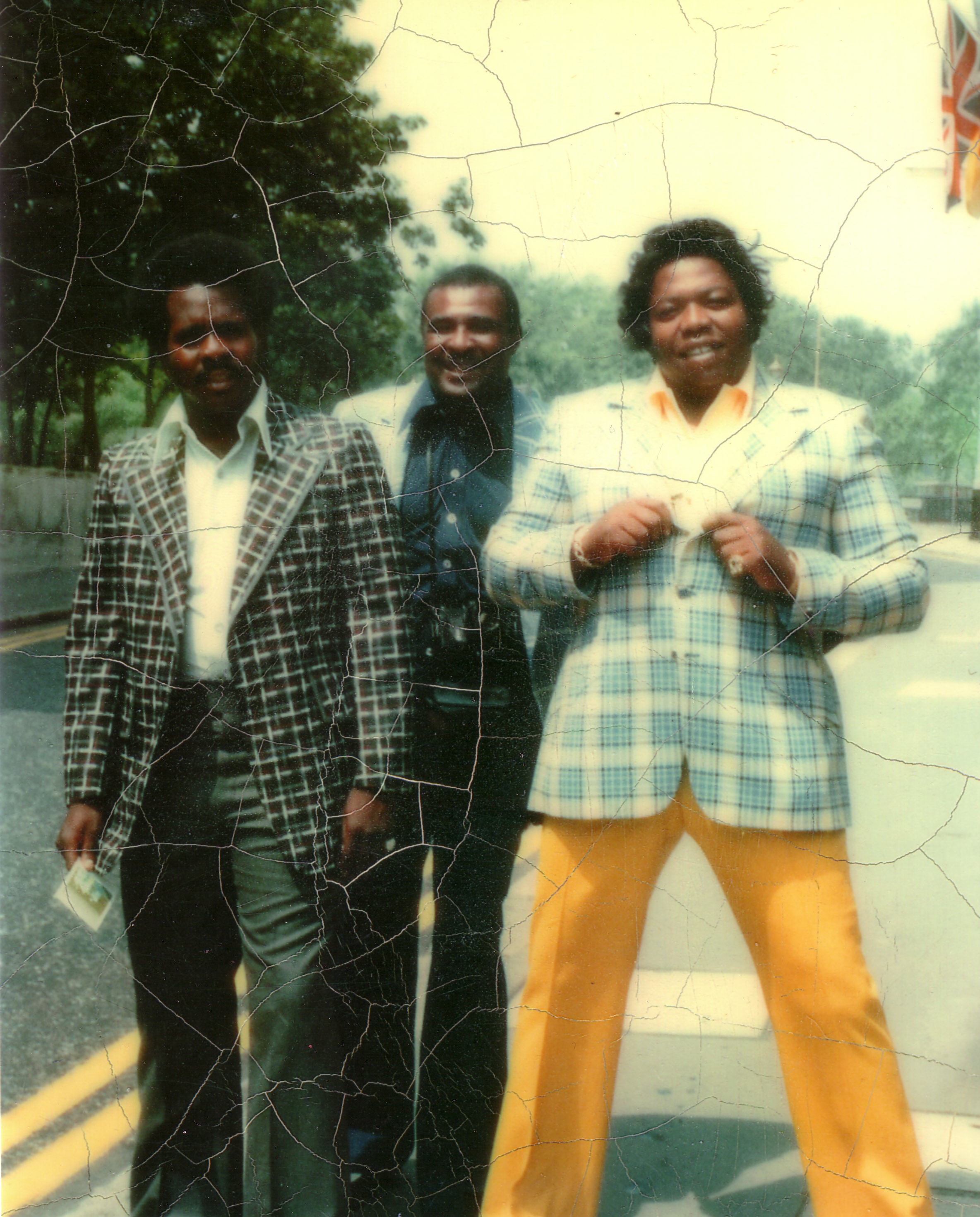 """As he started earning more money from selling heroin, Eddie Jackson, right, developed a taste for the finer things. His appetite eventually earned him the nickname """"the Fat Man.""""  Courtesy of Courtney Brown Jr."""