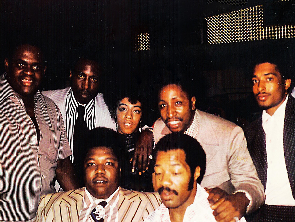 Eddie Jackson, Courtney Brown, and their associates wore flashy outfits and surrounded themselves with women. Eddie's fast living and wandering eye caught up with him eventually, when his girlfriend was caught transporting heroin in a New York City airport.  Courtesy of Courtney Brown Jr.