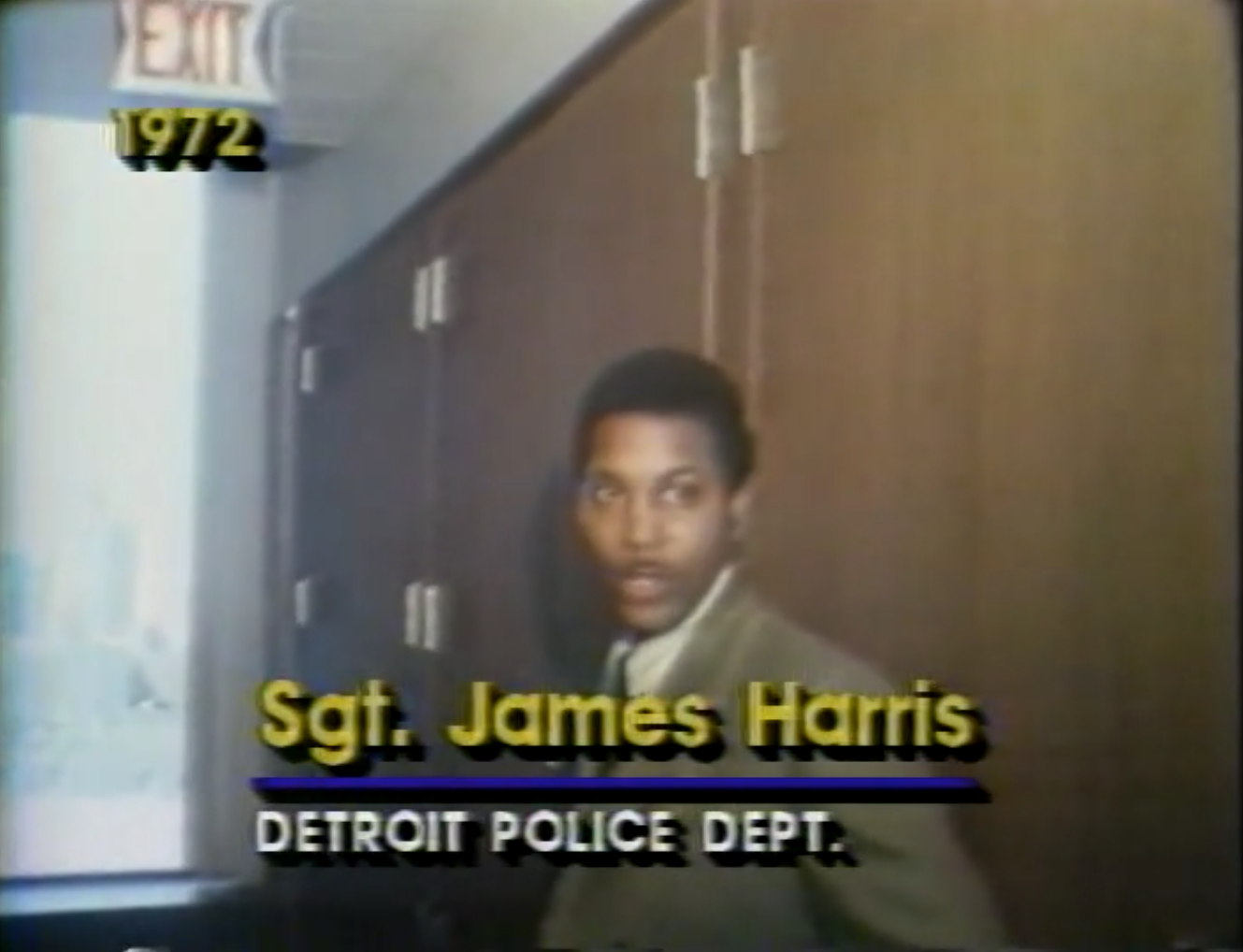 Detroit Police Sergeant Jimmy Harris worked security for Mayor Coleman Young's niece, Cathy Volsan, who was married to drug kingpin Johnny Curry. His unlisted phone number showed up in the pen register records collected by FBI Agent Herm Groman, and his number was found on a card in Johnny Curry's house.  Courtesy of Vince Wade.