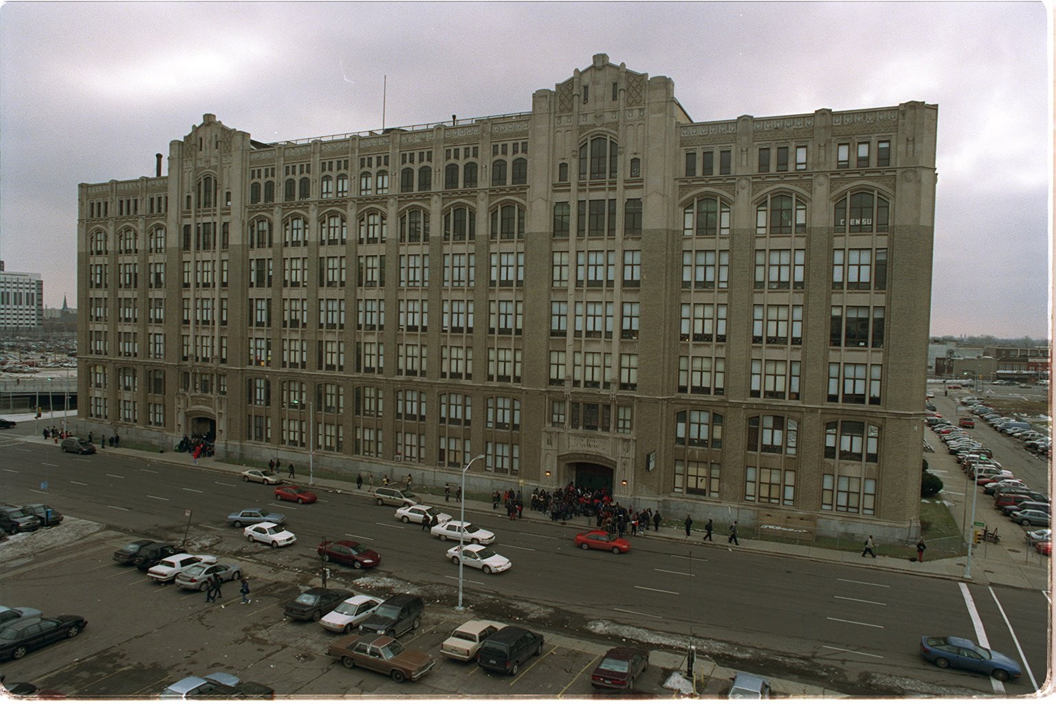 Kwame Kilpatrick and Christine Rowland first met while attending Cass Technical High School together in the 1980s. Cass Tech is a magnet school, and the most prestigious public high school in Detroit.  Courtesy of the Detroit Free Press.
