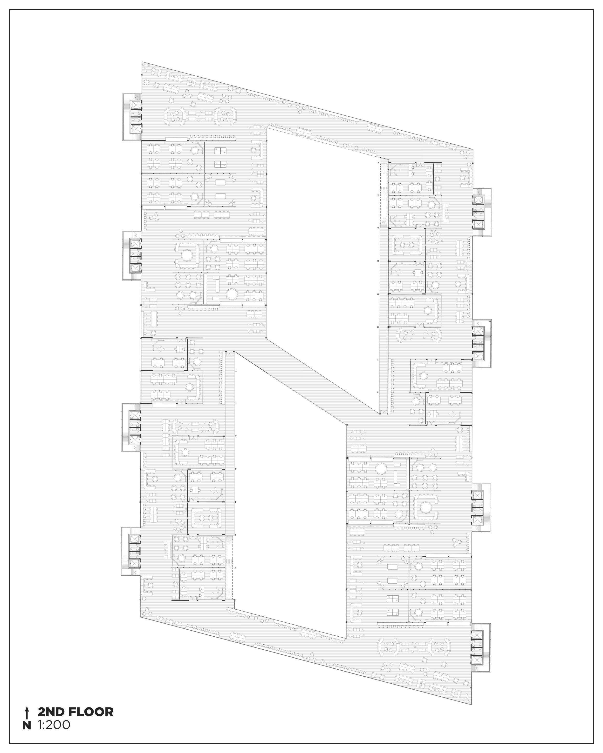 2nd Floor Plan.